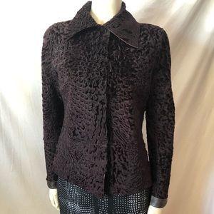 Rare! Dolce&Gabbana reversible Fur leather jacket